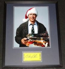 Chevy Chase Signed Framed 16x20 Photo Poster Display Christmas Vacation