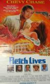 Chevy Chase Signed Full Size Fletch Lives Poster
