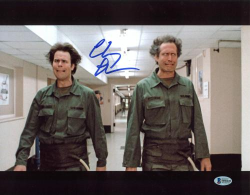 Chevy Chase Spies Like Us Signed 11x14 Photo BAS Witnessed 4