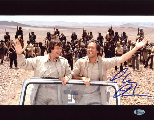 Chevy Chase Spies Like Us Signed 11x14 Photo BAS Witnessed #M50420