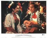 Chevy Chase Three Amigos Signed 11X14 Lobby Card Photo BAS Witnessed