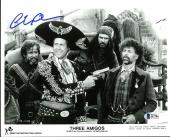 Chevy Chase Three Amigos Signed 8X10 Promo Photo BAS Witnessed #I47784