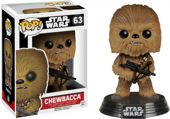 Chewbacca Star Wars Episode 7 #63 Funko Pop!