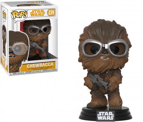 "Chewbacca Star Wars ""Solo"" #239 Wearing Goggles Funko Pop!"