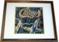 Chicago Autographed Tris & Keith Signed Framed Album & Proof AFTAL