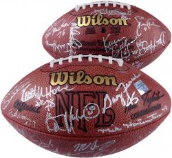 1985 Chicago Bears Autographed Football - 29 Signatures