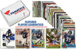 Chicago Bears Team Trading Card Block/50 Card Lot