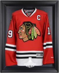 Chicago Blackhawks 2015 Stanley Cup Champions Black Framed Jersey Display Case