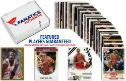Chicago Bulls Team Trading Card Block/50 Card Lot - Mounted Memories