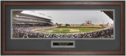 Chicago Cubs Wrigley Field  Day Game Framed Unsigned Panoramic Photograph with Suede Matte