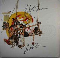 Chicago Greatest Hits Autographed Signed Album LP Beckett BAS COA