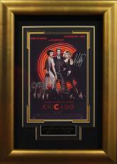 Chicago signed 22X30 Masterprint Poster Custom Gold Framed 3 cast sigs (movie/entertainment/photo)