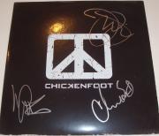 Chickenfoot Signed Album W/Proof Chad Smith Joe Satriani Michael Anthony w/COA