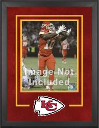 Kansas City Chiefs Deluxe 16'' x 20'' Vertical Photograph Frame with Team Logo - Mounted Memories