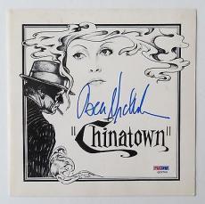 Chinatown Autographs- Jack Nicholson/Faye Dunaway/Roman Polanski (PSA/DNA)