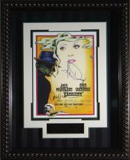 Chinatown Jack Nicholson & Dunaway Signed 11x17 Poster F