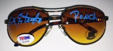 "'Chips' Erik Estrada Signed Sunglasses Aviators Francis 'Ponch"" Poncherello PSA"