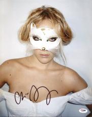 Chloe Sevigny Sexy American Horror Story Signed 11X14 Photo PSA/DNA #AC45211