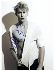 Chord Overstreet Signed Autographed 8x10 Photo Glee Shirtless Actor  COA VD