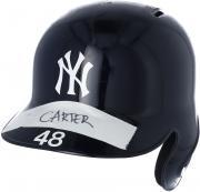 Chris Carter New York Yankees Game-Used #48 Batting Helmet from the 2017 MLB Season - JB769957