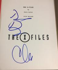 """David Duchovny Chris Carter Signed Autograph """"the X-files"""" Pilot Episode Script"""