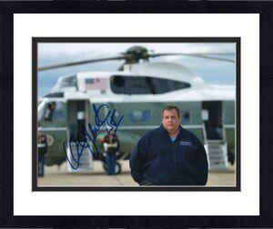 Chris Christie Signed Autograph 8x10 Photo - Nj Governor, 2020, Donald Trump A