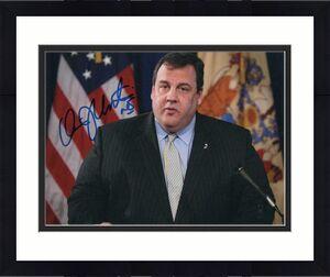 Chris Christie Signed Autograph 8x10 Photo - Nj Governor, 2020, Donald Trump D