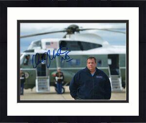 Chris Christie Signed Autograph 8x10 Photo - Nj Governor, 2020, Donald Trump H