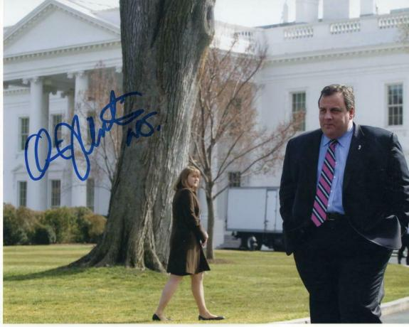 Chris Christie Signed Autograph 8x10 Photo - Nj Governor, 2020, Donald Trump J