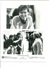 Chris Columbus Robin Williams Mrs Doubtfire Original Press Still Movie Photo