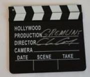 Chris Columbus Signed Autographed Clapboard GREMLINS Movie Director COA VD