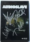 Chris Cornell Audioslave signed dvd group autographed with beckett loa