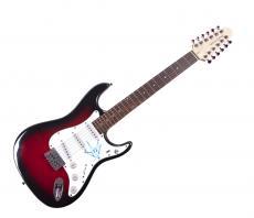 Chris Cornell Autographed Signed Audioslave 12-String Guitar PSA UACC COA AFTAL