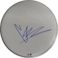 "Chris Cornell Signed Autographed 10"" Drumhead Soundgarden Grunge GA776007"