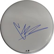 """Chris Cornell Signed Autographed 10"""" Drumhead Soundgarden Grunge GA776007"""