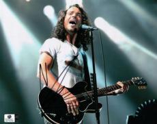 Chris Cornell Signed Autographed 8x10 Photo Soundgarden in Spotlights GA774754