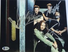 Chris Cornell Soundgarden signed photo group 8x10 with beckett loa