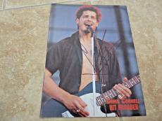 Chris Cornell Soundgarden Signed Autograph 8x11 Magazine Photo PSA Guaranteed #2