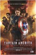 """Chris Evans Captain America Autographed 12"""" x 18"""" First Avenger Photograph"""