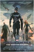 """Chris Evans Captain America Autographed 12"""" x 18"""" Winter Soldier Photograph"""