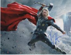 Chris Hemsworth Signed - Autographed THOR AVENGERS 11x14 Photo