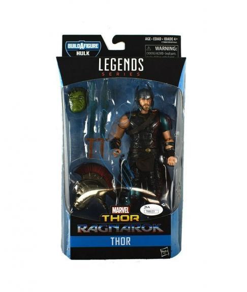 Chris Hemsworth Avengers Endgame Autographed Signed Action Figure Authentic JSA