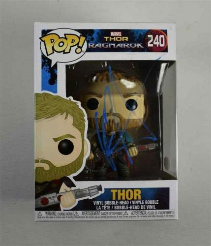 Chris Hemsworth Avengers Thor Ragnarok Endgame Autographed Signed Funko Pop JSA