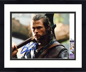 Chris Hemsworth Signed - Autographed The Huntsman Winters Tale 11x14 inch Photo - JSA Certificate of Authenticity