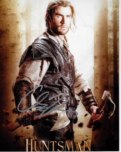 Chris Hemsworth Signed - Autographed The Huntsman Winters Tale 8x10 inch Photo - Guaranteed to pass BAS