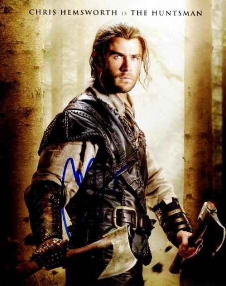 Chris Hemsworth Signed - Autographed The Huntsman: Winter's War 8x10 inch Photo - Guaranteed to pass BAS
