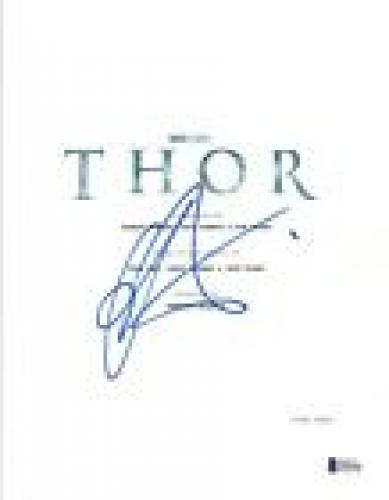 Chris Hemsworth Signed Autographed THOR Full Movie Script BAS Beckett COA