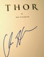 Chris Hemsworth Signed THOR Movie Script CA Celebrity Authentics Avengers AUTO