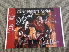Chris Jagger's Atcha Band Signed Autographed 8 x 11 Photos PSA Guaranteed