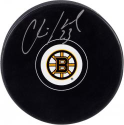 Chris Kelly Boston Bruins Autographed Hockey Puck